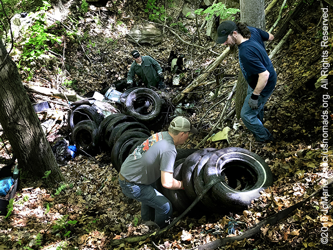 PA_May2019_0511_TrailCleanup_collectingandsettinguptires-crop_IMG_6479_650w