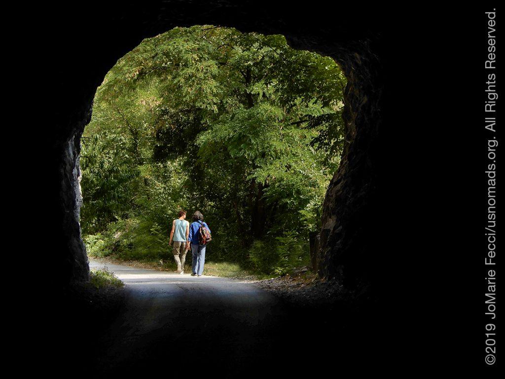 Serbia_Aug2019_Day07_roadtrip-gorge-nikianddimwalkingthrutunnel-crop_DSCN6553_1200w