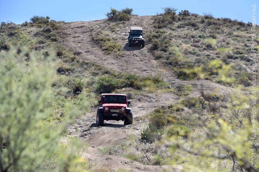 AZ_LONtrip_OCT2019_1005-Day03-TucsonRR_2jeepscomingdownmountian2_DSC_0524_1200w