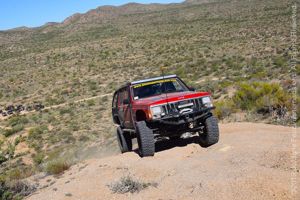 AZ_LONtrip_OCT2019_1005-Day03-TucsonRR_redjeepgroupbelow_DSC_0456_1200w